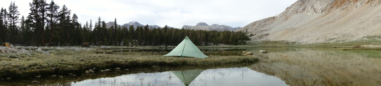 epic camping right before climbing forester pass, which is 13,500 feet.