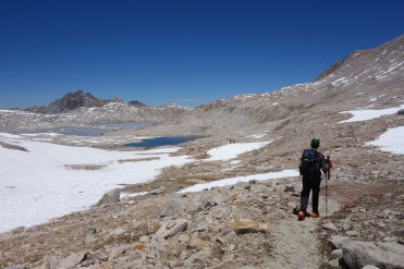 the north side of muir pass