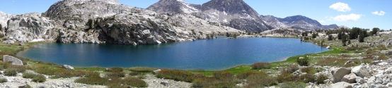 evolution lake, one of the most beautiful places on earth.