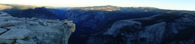 the diving board on half dome.