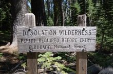 desolation wilderness. i think read a book by Jack Karouac that took place here.