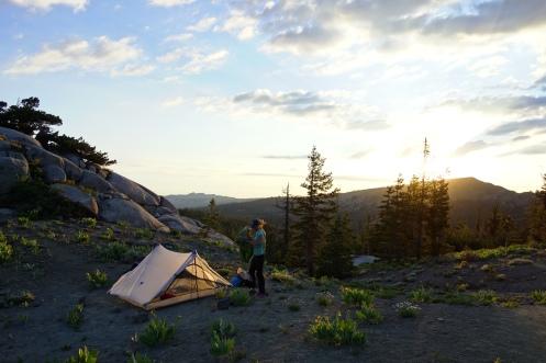 sunset camp spots.