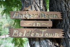 Beldon California has 5 buildings. don't know how much anchoring down there has been there.