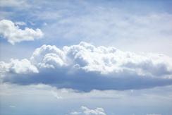 epic clouds on hat creek rim.