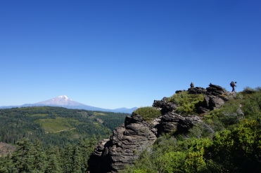 If you look close you can see Trail Blazer to the right with a view of Mt Shasta