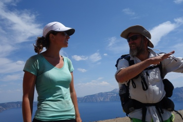 poison and animal at Crater Lake.