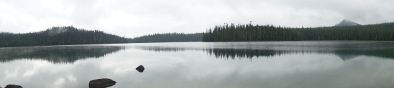 a pond in Oregon.