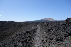 lava fields created from the sisters wilderness. a really unreal and spectacular place to be able to hike.