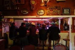 Chillin at the bar in Trout lake.