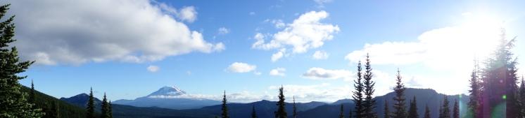 Mt. St. Hellens.