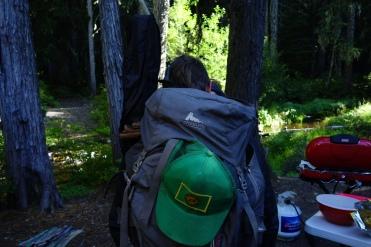 Hot Pants' backpack