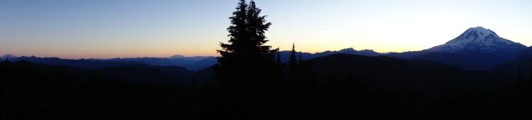 Mt Rainier.