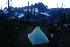 Epic camping.... cold cold camping.