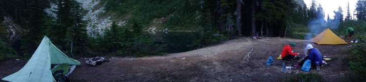 Epic Camping at Peggy pond.