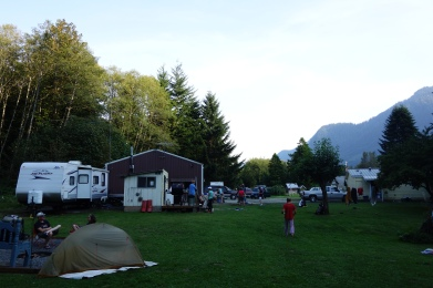The Dismores, a free place for hikers in Skykomish. Awesome People.