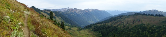 Beautiful valley in the north Cascades.