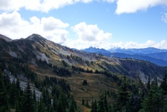 Just south of the Canadian Border. North Cascades.