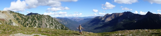 What a cool place for a trail. North Cascades.